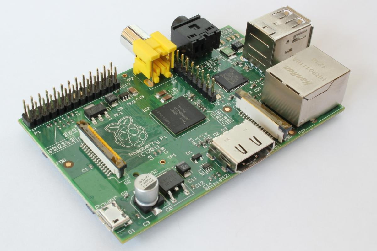 Raspberry Pi (Source: OpenSource.com)