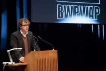 Bernd Scherer at the Opening Ceremony of transmediale 2013 BWPWAP