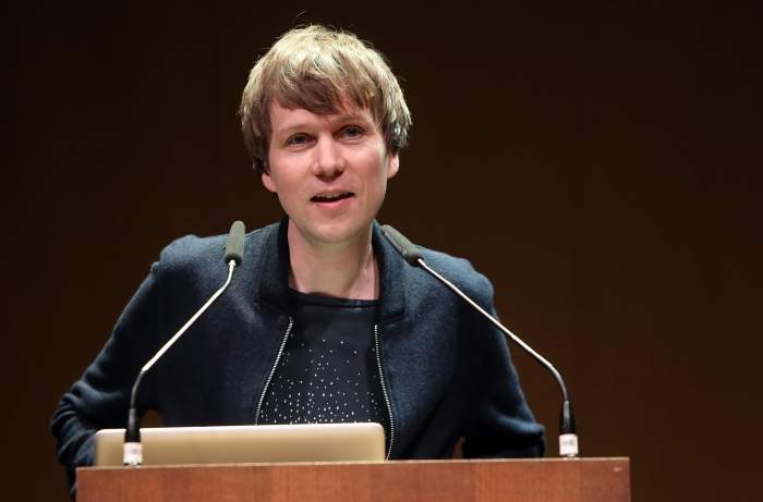 """Kristoffer Gansing announcing """"Strange Ecologies: From Necropolitics to Reproductive Revolutions"""", transmediale 2017"""