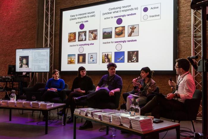 The panelists of Machine Feeling