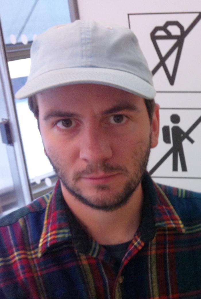 Portrait of Emanuel Almborg.